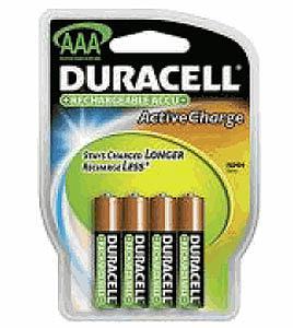 Piles rechargeables Duracell AAA