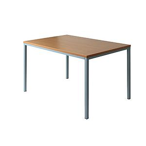 Table basique rectangulaire 120x80 cm OU XXL 160x80cm