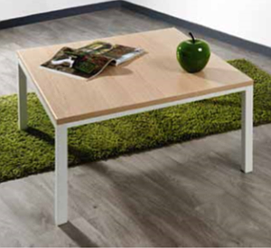 Table basse ECO 60x60cm blanche