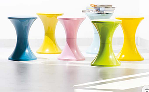 "Tabouret POP "" TAM TAM "" le lot de 6"