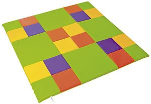 Tapis enfant multicolore en mousse
